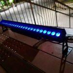Venus WashBar LED ( 240W IP65 )も試してみました。